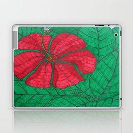 Flower & bee, color Laptop & iPad Skin