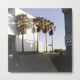 Palms for days Metal Print