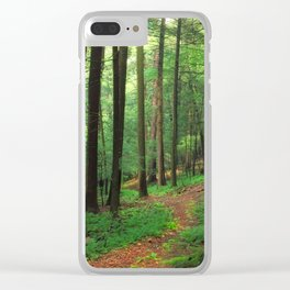 Forest 4 Clear iPhone Case