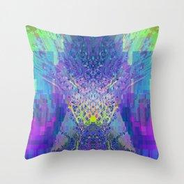 Circuitree Throw Pillow