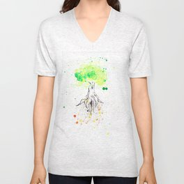 Rooted in Everything Unisex V-Neck