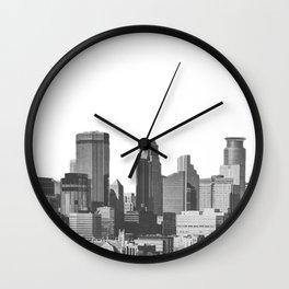 Minneapolis Minnesota Wall Clock