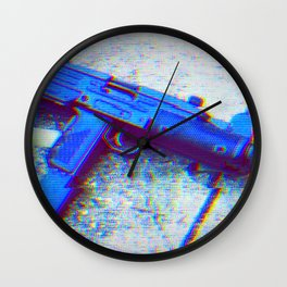 Uzi Wall Clock