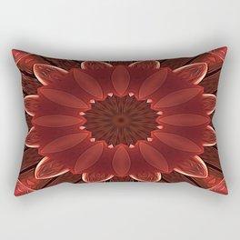 Root Flower Rectangular Pillow