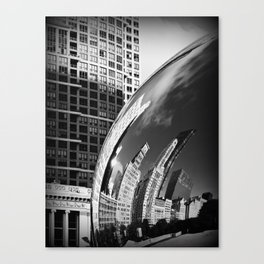 The Bean Reflections Canvas Print
