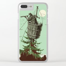 DISCOVERING PORTLAND Clear iPhone Case