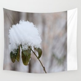 Snow Flower Wall Tapestry