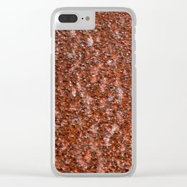Grunge Texture 9 Clear iPhone Case