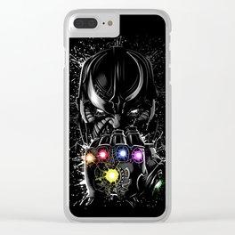 Galaxy infinite Clear iPhone Case