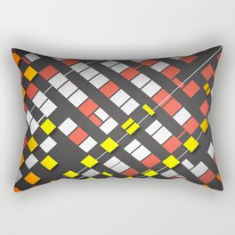 Breakout Pattern Rectangular Pillow
