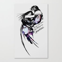 I promise - Rinoa and Squall Canvas Print