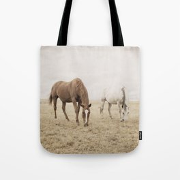Open Country Horse Photograph Tote Bag