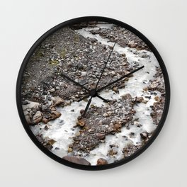 The birth of Nisqually river Wall Clock