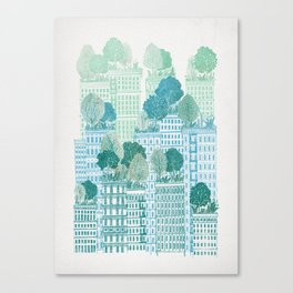 Juniper - A Garden City Canvas Print
