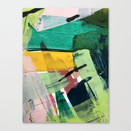 Hopeful[3] - a bright mixed media abstract piece Canvas Print