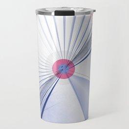 Pattern colors 2016 rose quarz and serenity blue Version 5 Travel Mug