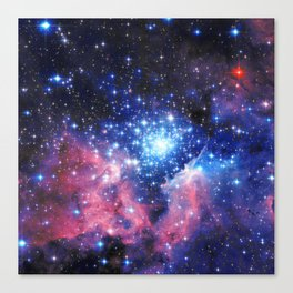Extreme Star Cluster Canvas Print