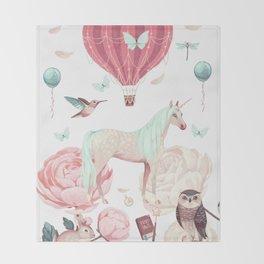 Fairytale dream Throw Blanket
