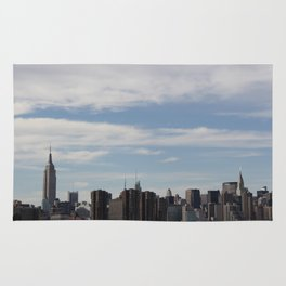 NYC Summer Skyline Rug