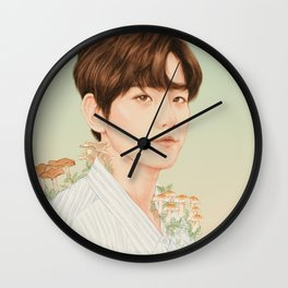 nurture. growth. [baekhyun exo] Wall Clock