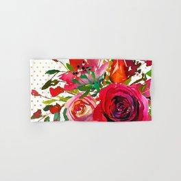 Flowers bouquet #37 Hand & Bath Towel