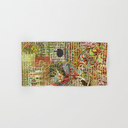 Worms Hand Bath Towels Society6