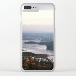 Vancouver Clear iPhone Case