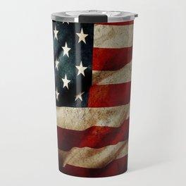 America FLAG Travel Mug