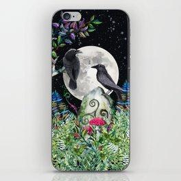 Raven Moon Magick iPhone Skin