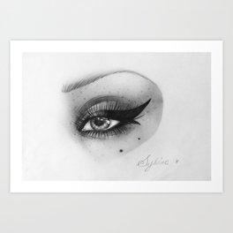 Eye #1 Art Print