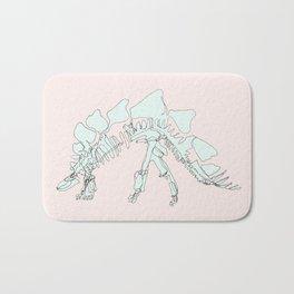 Pastel Stegasaurus Bath Mat