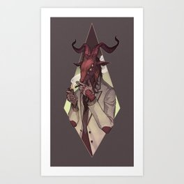Devil Do Art Print
