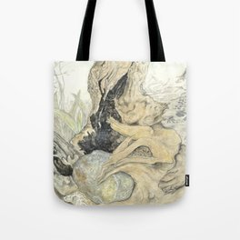 Held Rock IV:  Tree Hug Tote Bag