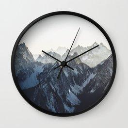 Mountain Mood Wall Clock