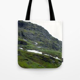 Mossy Mountains Tote Bag