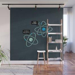 Negative Atom Wall Mural