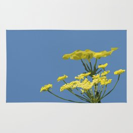 Fennel flowers Rug