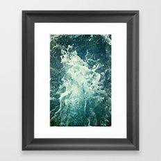 Water IV Framed Art Print