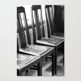 chairs Old Canvas Print