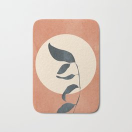 Summer Leaves Bath Mat