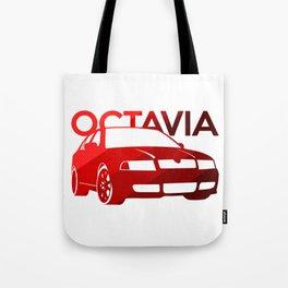 Skoda Octavia - classic red - Tote Bag