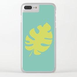 Botanical #3 Clear iPhone Case