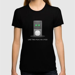 'Two Peas In A Pod' by Digital Slave T-shirt