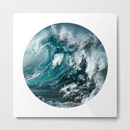 Water 5 Metal Print