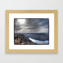 THE COVE oregon Framed Art Print