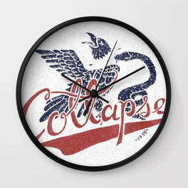Collapse Wall Clock