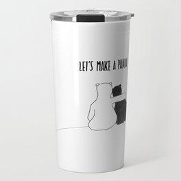 Let's Make a Panda Travel Mug