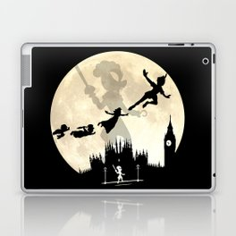 Peter Pan FullMoon Over London Laptop & iPad Skin