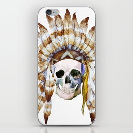 Skull 01 iPhone Skin