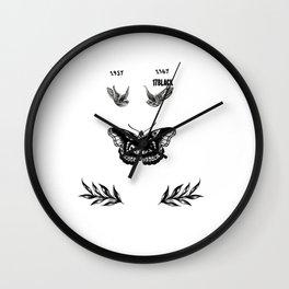 Harry's tattoo Wall Clock